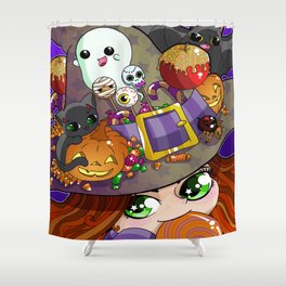 Candy Witch Shower Curtain