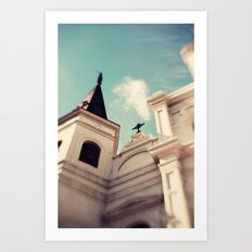 St. Louis Cathedral - New Orleans Art Print
