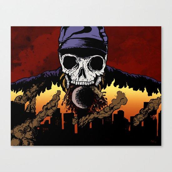 """""""Hip Hop Horror"""" by Cap Blackard Canvas Print"""