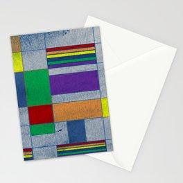 Mid-Century Modern Art - Rainbow Pride 1.0 Stationery Cards