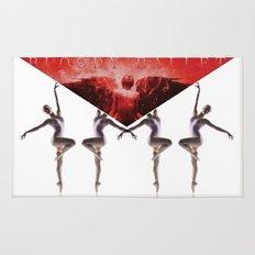 envelope bloody ballet Rug