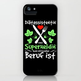 Dietician Gift iPhone Case