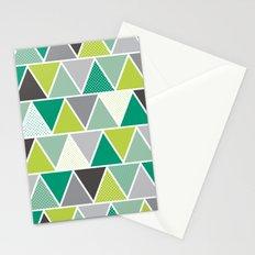 Triangulum - Emerald Stationery Cards