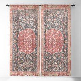 Salting Safavid 16th Century Persian Carpet Sheer Curtain