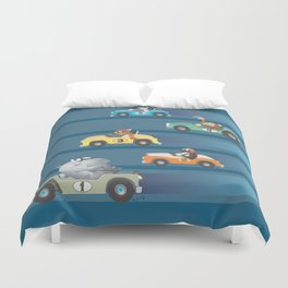 The Great Animal International Invitational Race Duvet Cover