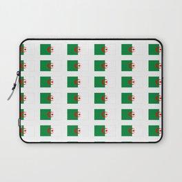 Flag of algeria 2 -algerian,algiers,camus,chaabi,oran,constantine,Annaba. Laptop Sleeve