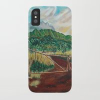 country iPhone & iPod Cases featuring Country by Art by Risa Oram