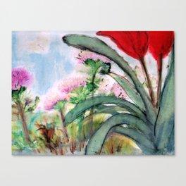 My Backyard Canvas Print