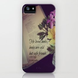 Books Les Miserables iPhone Case