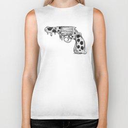 Pizza Gun Biker Tank