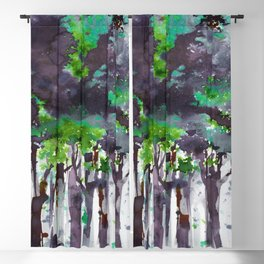 Song Of The Trees 9i by Kathy Morton Stanion Blackout Curtain