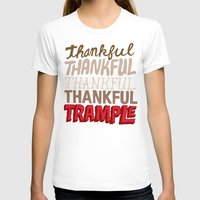 thanksgiving T-shirts featuring Thanksgiving, Black Friday by Chris Piascik