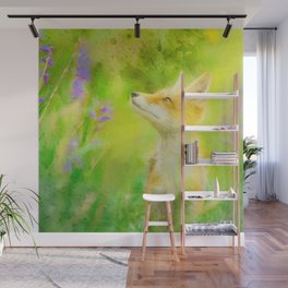 Enchanted Fox Wall Mural