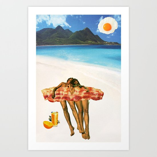 Unrequited Fantasies Art Print