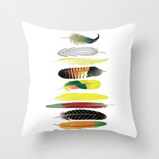 Shake Your Tail Feather Throw Pillow