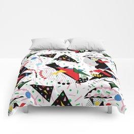 Postmodern Dinner Plates Comforters