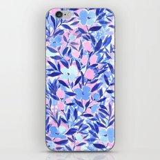 Nonchalant Blue iPhone & iPod Skin