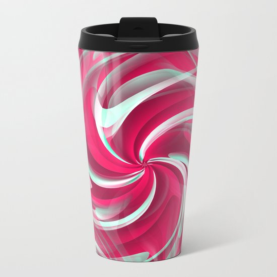 Aerial Metal Travel Mug
