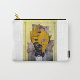 The man with the paper mask Carry-All Pouch