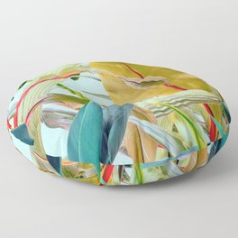 Tropical Jungle Floor Pillow