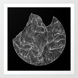Inverted Crevice Art Print