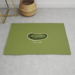 That's a Pickle! Rug