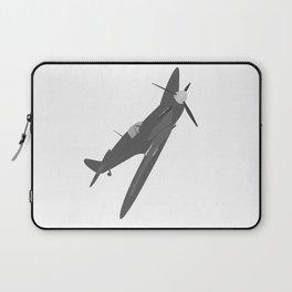 Silver Spitfire Laptop Sleeve