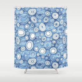 Fairytail Snowflakes Shower Curtain