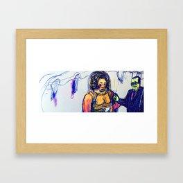 Monstruous Wedding Framed Art Print