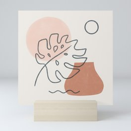a warm feeling Mini Art Print