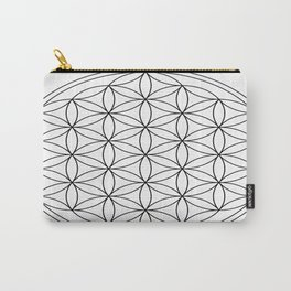 Flower of Life : sacred geometry Carry-All Pouch