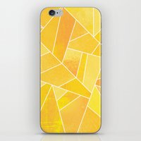 sunshine iPhone & iPod Skins featuring Sunshine by Elisabeth Fredriksson