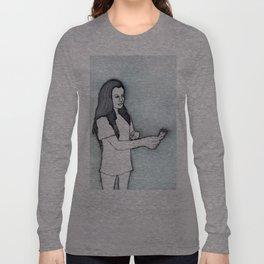 Jasmine sage smudges the house Long Sleeve T-shirt