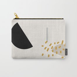 Modern Minimal Abstract Carry-All Pouch