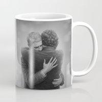 johnlock Mugs featuring John and Sherlock by br0-harry
