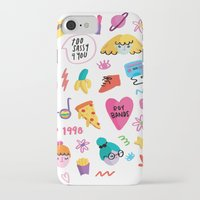 90s iPhone & iPod Cases featuring 90s by melissa chaib