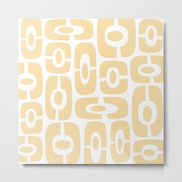 Mid Century Modern Cosmic Abstract 375 Metal Print