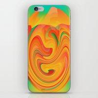desert iPhone & iPod Skins featuring Desert by Casey
