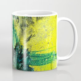 Sweet or Sour // abstract painting Coffee Mug