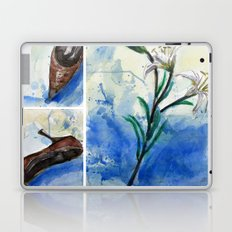 Flowers and shoe  Laptop & iPad Skin