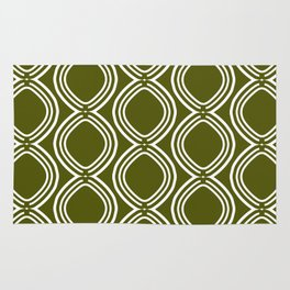 Hatchees (Olive Green) Rug