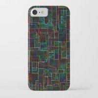matrix iPhone & iPod Cases featuring Matrix by Jacqueline Maldonado