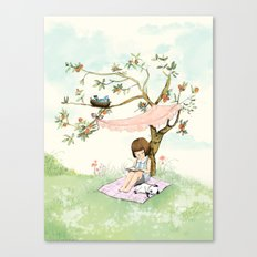 My summer Tree Canvas Print