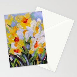 Daffodil Tangle Stationery Cards