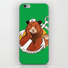 Sailor Bear Redux - Baylor University iPhone Skin