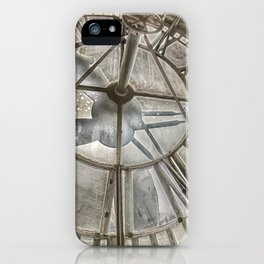 Vintage Clock Tower iPhone Case