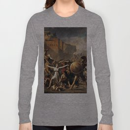 The Intercession of the Sabine Women Long Sleeve T-shirt