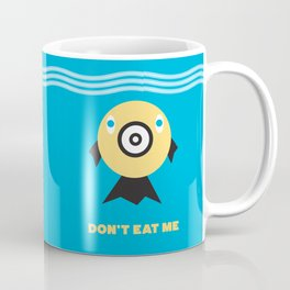 Don't Eat Me Vegan Fishie Art Coffee Mug