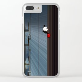 Window Washer Clear iPhone Case