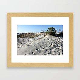 Dunes in Sardinia Framed Art Print